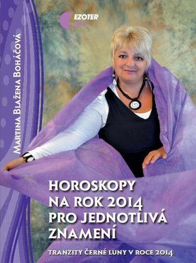 Kniha: Horoskopy na rok 2014 pro jednotlivá znamení