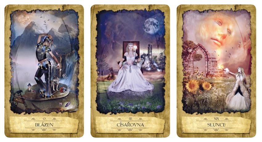 Tarotové karty - Magického Měsíce