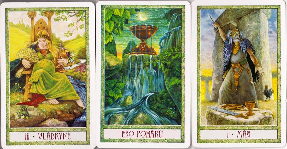 V dobách, kdy se snažíme přiblížit přírodnímu světu, přijměte pozvání tohoto překrásného Tarotu k oslavě Země a jejích ročních období. Dostává se vám totiž do rukou dílo mimořádné hloubky a moudrosti, spojující dva nejsilnější západní pohanské tradice - Wiccu a magii Druidů. Dovolte mu, aby se stalo vaším průvodcem a naplnilo váš život světlem.